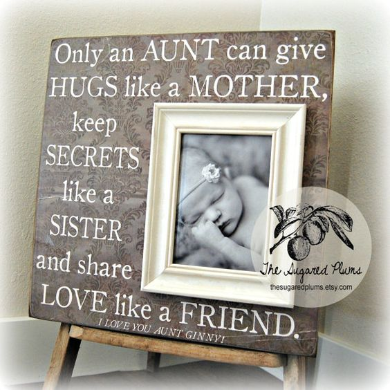 Christmas Gifts For Nephew And Niece: Aunt Gifts, Aunt And Personalized Picture Frames On Pinterest