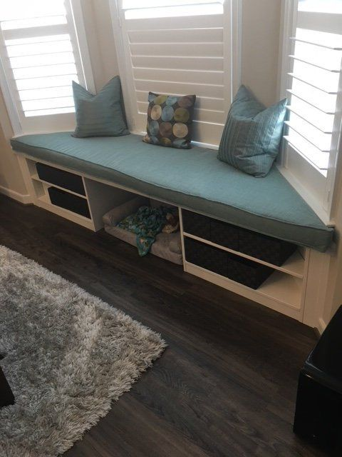 Custom Window Seat Cushion Trapezoid Custom Cushions In Choice Of