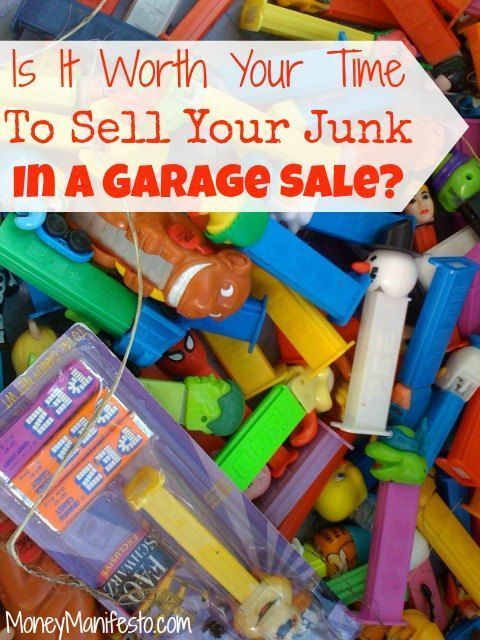 Is Hosting A Garage Sale Worth The Time Effort Things To Sell