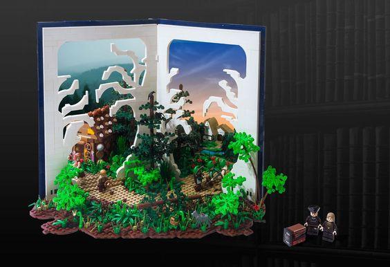 LEGO MOC des Monats Februar 2016: 3.Platz für die Gebrüder Grimm!