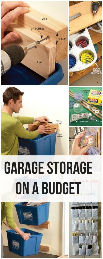 garage storage ideas on a budget - Garage Storage on a Bud