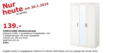 Ikea Essen Songesand Kleiderschrank Weiss Ikea Essen