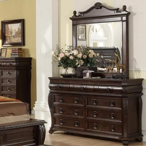 Home Insights Brown Dresser Mirror Dresser With Mirror Home Brown Dresser