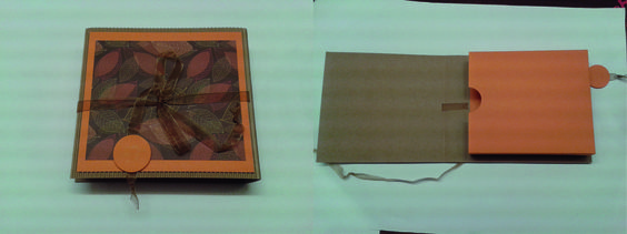 Geschenkverpackung für ein Hörbuch