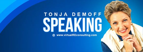 Tonja Demoff When it comes to your company, make sure you are making the right decisions. At Virtual Consulting Group, we provide revolutionary real estate concepts to agents. http://www.virtualreconsulting.com/