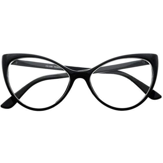Large women, Glasses frames and Cat eye glasses on Pinterest