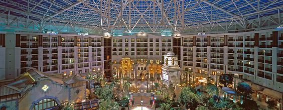 Gaylord Texan Hotel..There with my sister for three days...Wonderful food too!