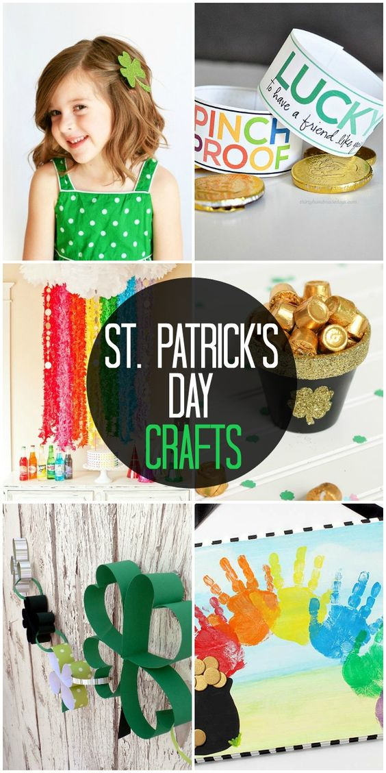 A roundup of awesome St. Patricks Day crafts and activities for the kids on { lilluna.com }!!