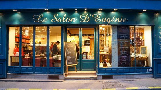 Toulouse le salon d 39 eug nie 16 rue des lois restaurant for Salon des antiquaires toulouse