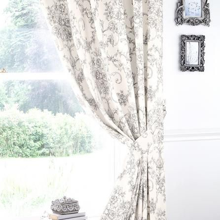 Curtains Ideas 60 wide curtains : Grey Frances Thermal Pencil Pleat Curtains | Dunelm £60 wide ...