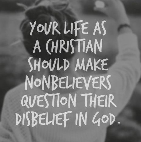 Which is better?..the Christian life or the non-Christian life?