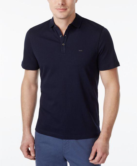 Michael Kors Men's Liquid Polo Shirt | macys.com