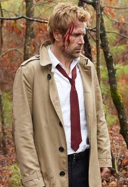 Arrow Matt Ryan John Constantine Coat John Constantine Matt Ryan Constantine Matt Ryan