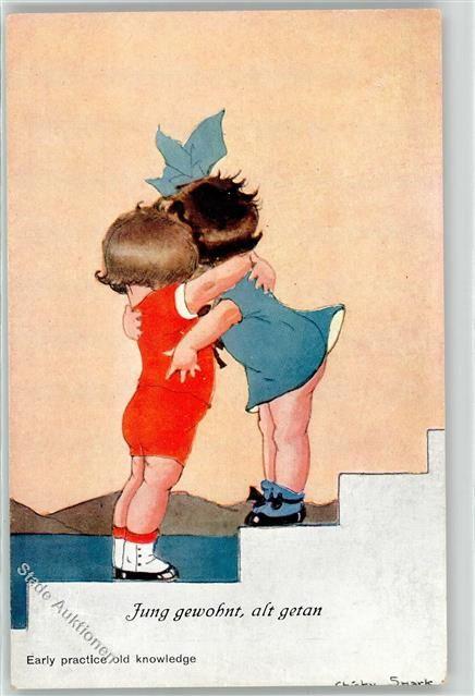 Künstlerkarte Spark, Ch. Kind:
