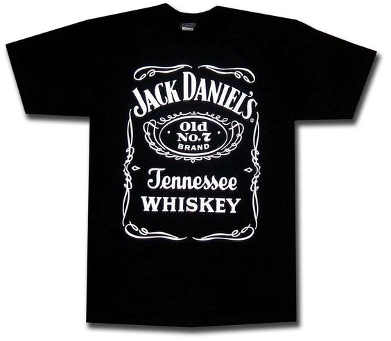 Authentic Jack Daniels Jack Daniel Tshirt T-shirt-Original from JD