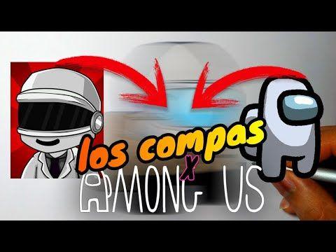 Fusionando Personajes Among Us Y Los Compas Fusión Art Challenge Fusion Among Us Y El Mayo 97 Youtube Videos De Como Dibujar Personajes Challenge