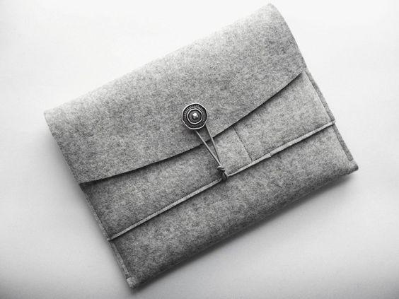 Tablet Tasche für iPad aus Wollfilz von stil-arten auf DaWanda.com