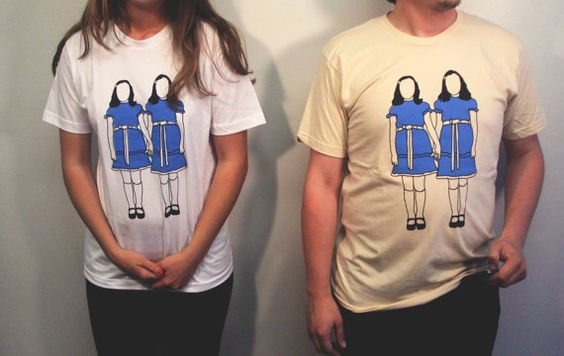 The Shining Grady Sisters Tee Made to Order by LizDeeganDesigns
