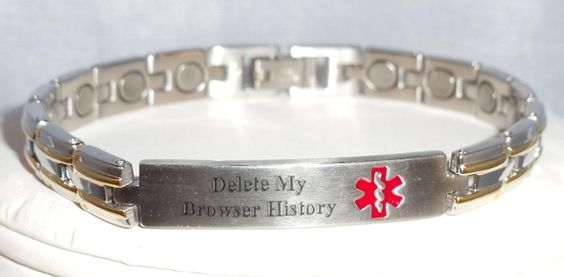 delete my browser history . TOO FUNNY!!!