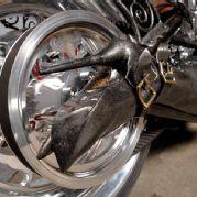 Treasure Island Casino Siren Chopper Rear Wheel View