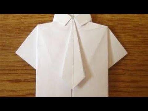 Money Origami Shirt and Tie Folding Instructions | 360x480