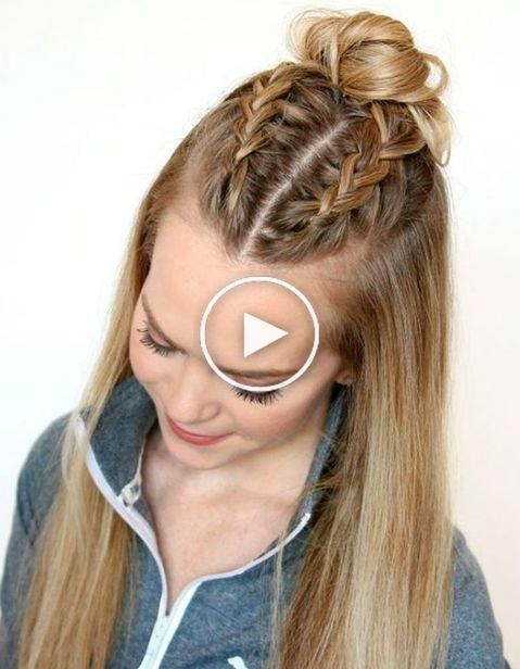 Comment Faire Une Tresse Collee Comment Faire Des Tresses Coiffure Facile Tresses Collees