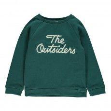 Sweatshirt The Outsiders Chromgrün
