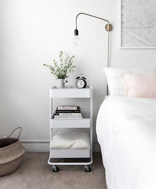 This list of Genius Space-Saving Ideas for Your Small Bedroom is great! I'm glad I've found these so I can organize my stuff in my tiny bedroom. via www.sharpaspirant.com #smallbedroomideas #smallbedroomstorageideas #spacesaving #bedroomideasforsmallrooms