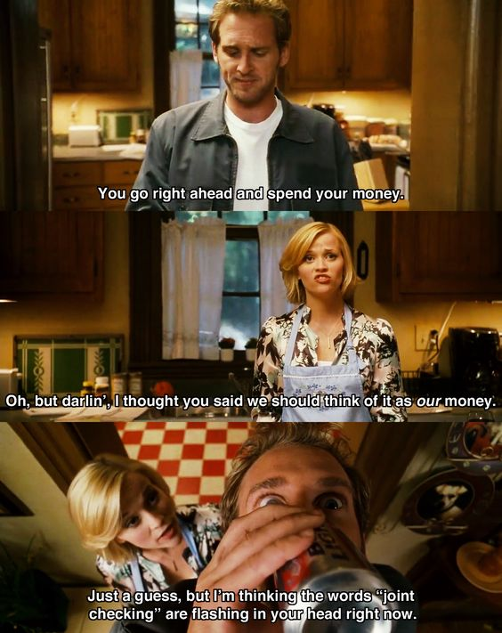 'Our' money ~ Sweet Home Alabama (2002) ~ Movie Quotes