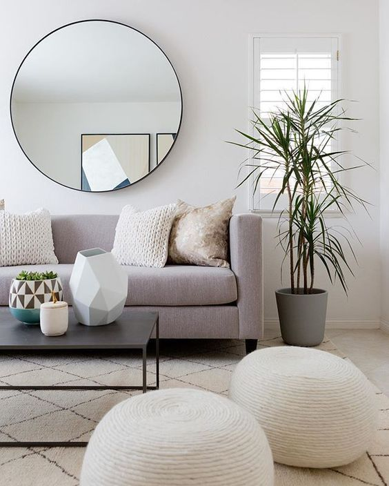 Living Room Decorating Ideas In The White Wall Cozy Living Room Design Minimalist Living Room Living Room Scandinavian