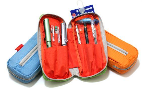 Nomadic PE-06 Side Zipper Pencil Case - Yellow - NOMADIC EPE 06 YELLOW