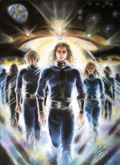 The Pleiadians were another alien race.