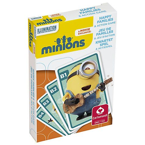 Buy Minions Happy Families Action Game Online at johnlewis.com