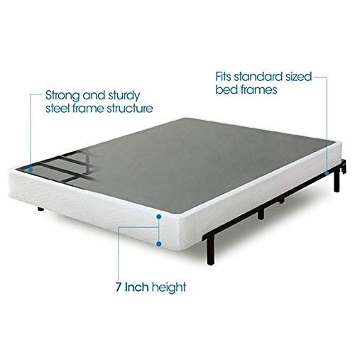 Myeasyshopping Twin Size Steel Frame Box Spring Mattress
