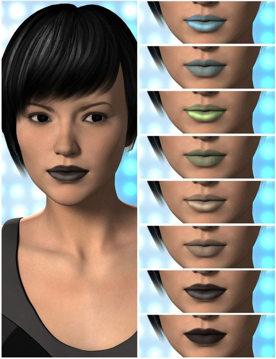New Skin for a new Lady! Victoria 6 Skin Tones use the new Subsurface Shader for added realism. 16 lips presets (eight glossy, eight non-glossy) and several Eye and Make-Up options to choose from. Give Victoria 6 the 'next generation' treatment that she deserves! http://3dmodelartzone.blogspot.ro/2013/06/art-zone-victoria-6-skin-tones.html