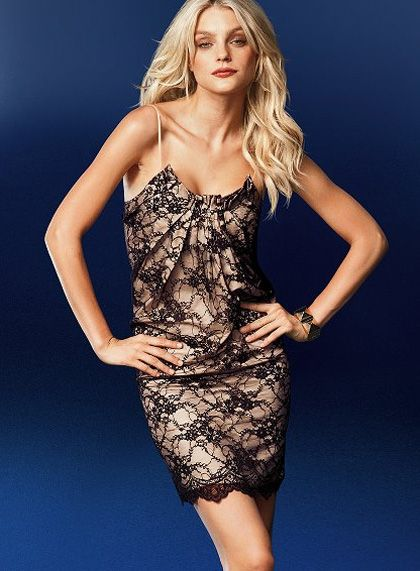 Lace dress victorias secret 40c