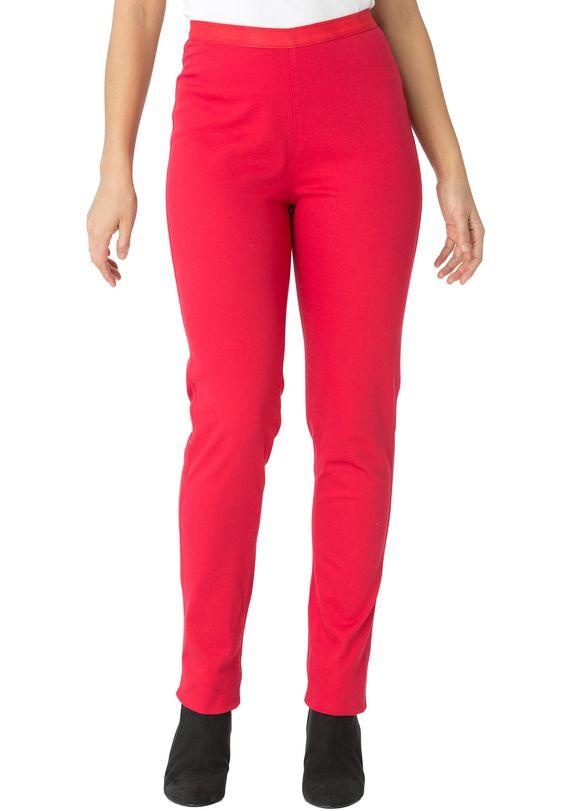 Plus size stretch denim leggings in a true fit with denim ...