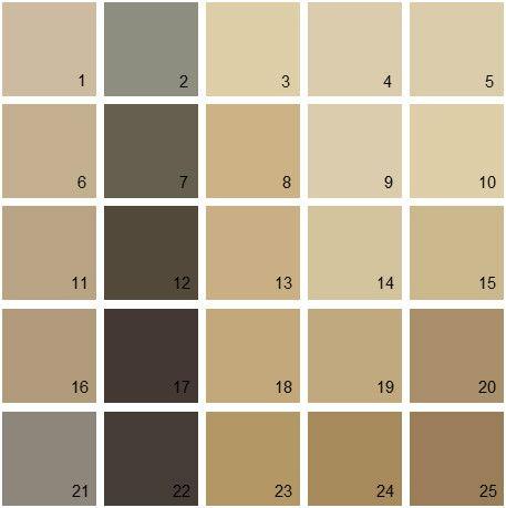 Benjamin Moore Paint Colors Brown Palette 11 House Paint Colors A Color Schemes Interior