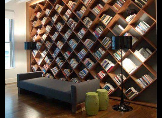 Diamond Bookcase