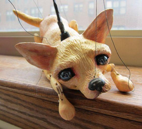 Chihuahua Dog Puppet