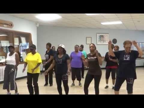 Good Foot Pokey Bear Line Dance In Class Youtube Line Dancing Dance Lets Dance