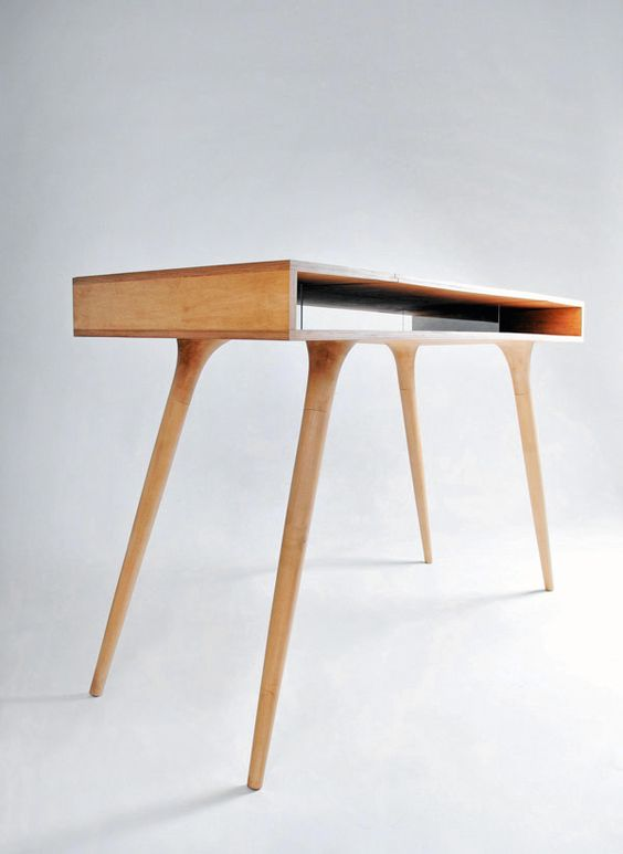 Wooden Desk by Shpelyk Roman