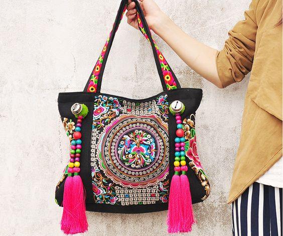 patrones bolsos bordados - Buscar con Google