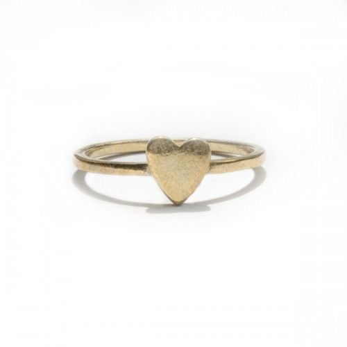 Verameat - Filled in Heart Ring