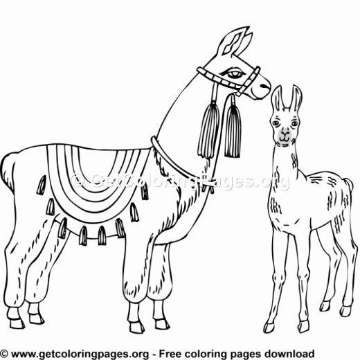 32 Llama Llama Red Pajama Coloring Page In 2020 Animal Coloring