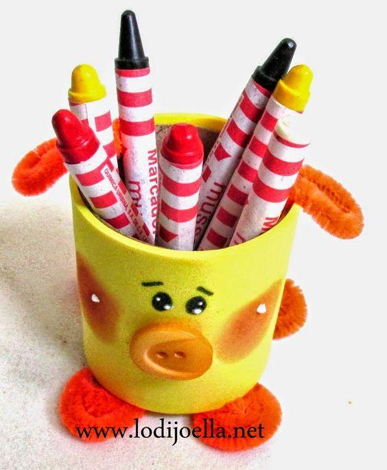 Manualidades con cosas recicladas faciles y bonitas - Manualidades de navidad para ninos pequenos ...