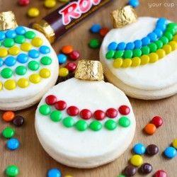 Decorating Ornament Sugar Cookies
