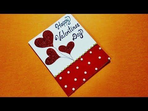 Beautiful Handmade Valentines Day Card Idea For Boyfriend