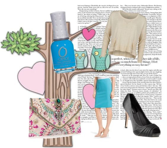 """""""Pencil Me In"""" by oshmagosh on Polyvore"""