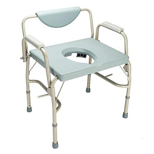 Mallmall Medical Commmode Chair Professional Toilet Chair Commode